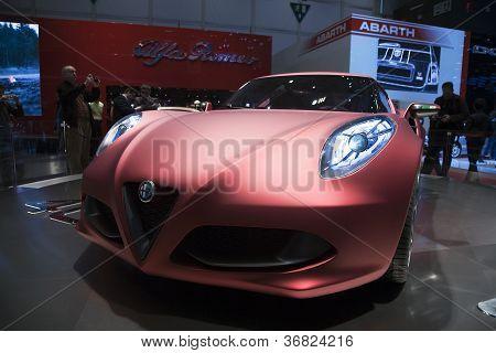 Alfa Romeo 4C concept car