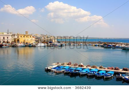 A View Of Gallipoli In Apulia Italy