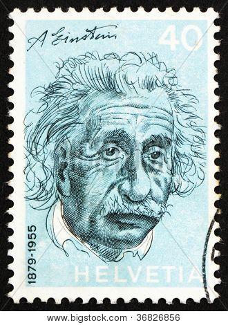Postage Stamp Switzerland 1972 Albert Einstein, Theoretical Physicist