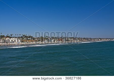 California Coastline Oceanside CA