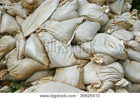 Sandbags Background