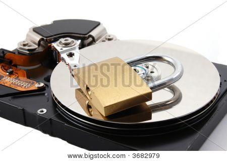 Secure Computer Hard Disk Drive