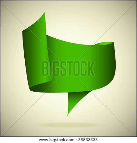 green speech bubble
