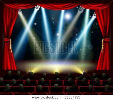 Start Of Amazing Entertainment Event