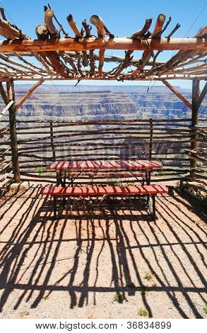Observation Shelter Grand Canyon