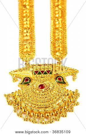 Indian bridal Sita Har or Sita Necklace
