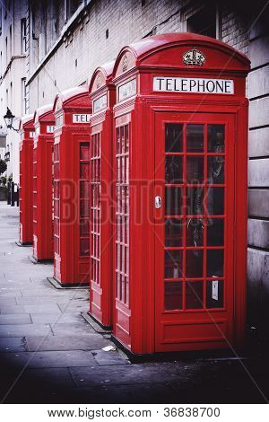 Uk Red Phone Boxes