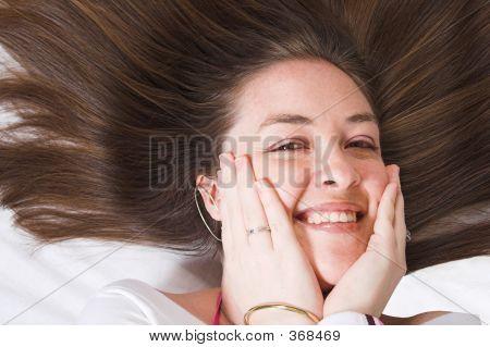 Shy Girl - Beauty Portrait