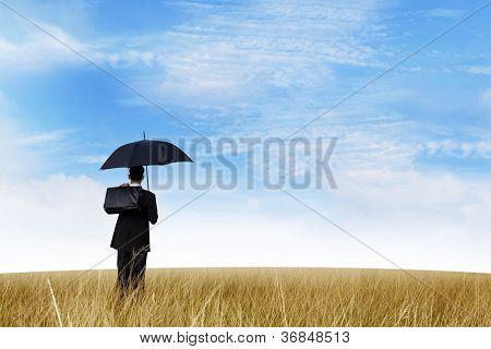 Insurance Agent Outdoor