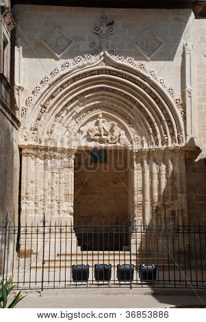 The baroque St. George gate of Ragusa Ibla