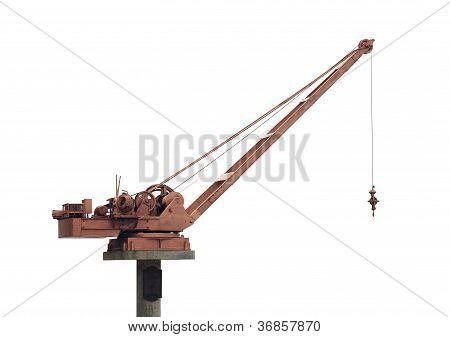 Vintage Hoist Crane