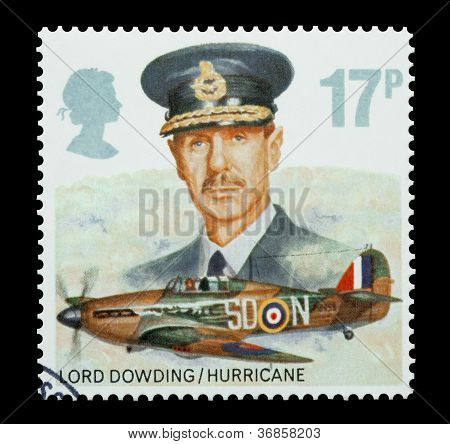 Lord Dowding and RAF Hurricane