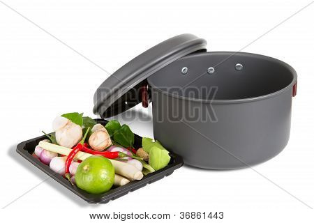 Pot outdoor camping cooking