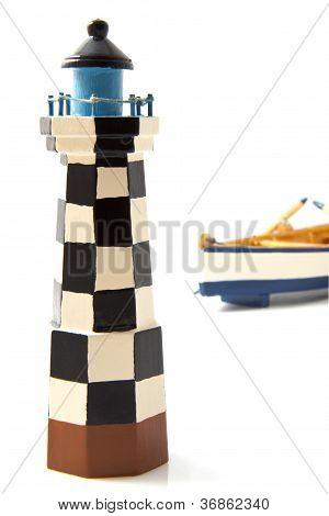 Leuchtturm hautnah