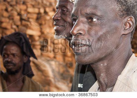 Dogon Men, Mali, Africa.