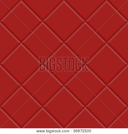 Seamless Red Ceramic Tiles