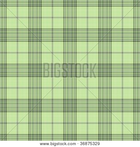 Seamless Soft Green Plaid