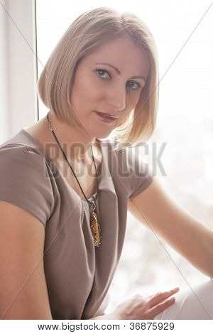 Woman Near Window Pame