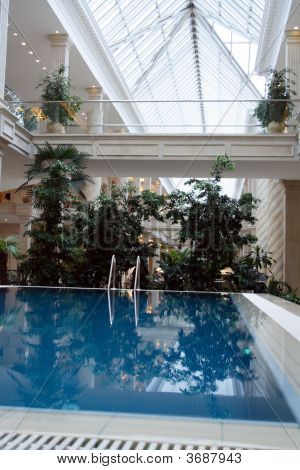 Interior With Pool