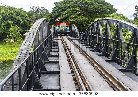Bridge on river Kwai Thailand
