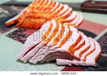preparation bacon