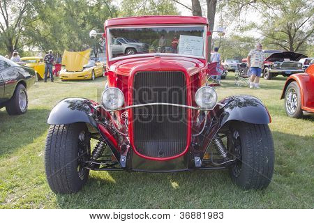 1930 Ford Street Rod Front View