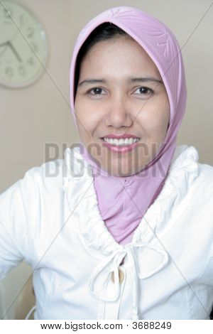 Girl In Muslim Dress