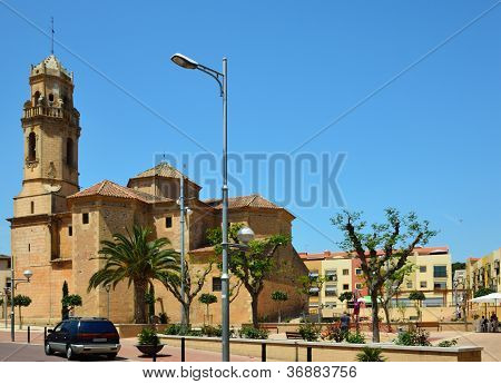 Spring View Of The Spanish Town