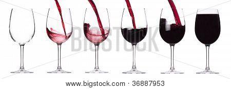 Red Wine Splashing Set