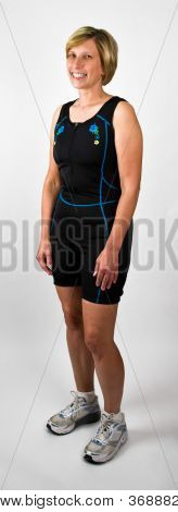 Baby Boomer Women In Workout Clothes