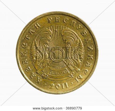 Kazakh Coin Of 10 Tenge