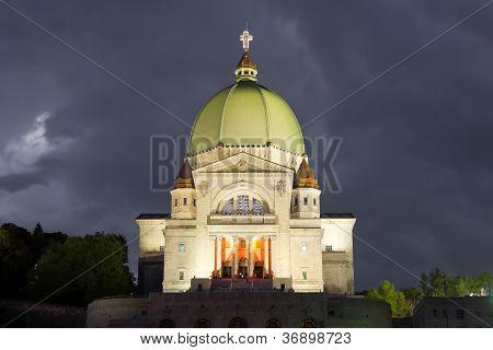Saint Joseph's Oratory In Montreal