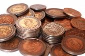pic of nelson mandela  - Collection of South African coins with Mandela - JPG