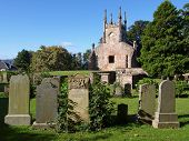 foto of bute  - Ruins of Cardross old parish church and churchyard - JPG