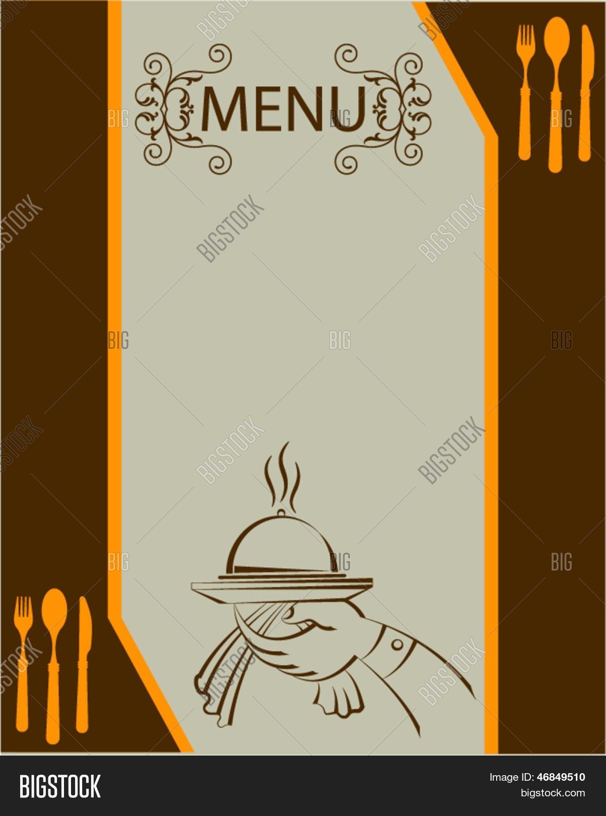 restaurant menu card background wwwimgkidcom the