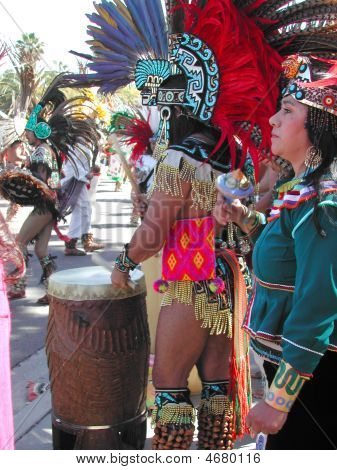 Aztec Drummer_2