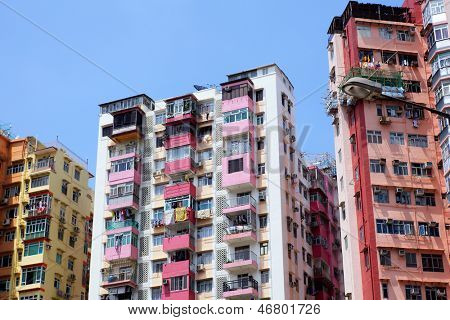 Home building in Hong Kong