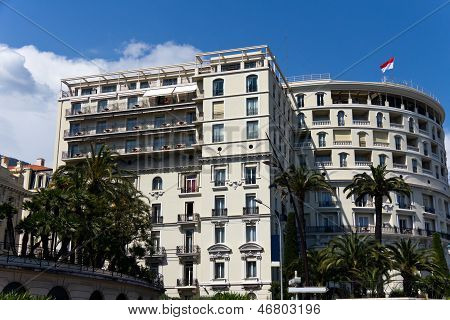 MONACO -jun11: Hotel de Paris Monte-Carlo, Monaco on Jun 11, 2013. Built in 1864 an exceptional luxu