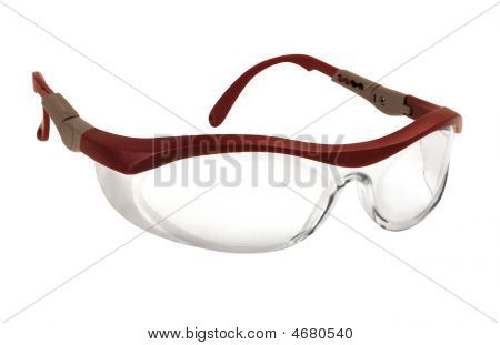 Safety Spectacles For Worker With Clear Lenses
