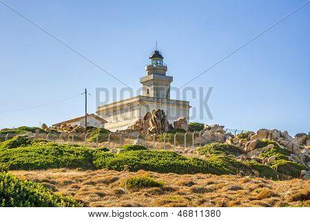 Lighthouse At Capo Testa, Sardinia