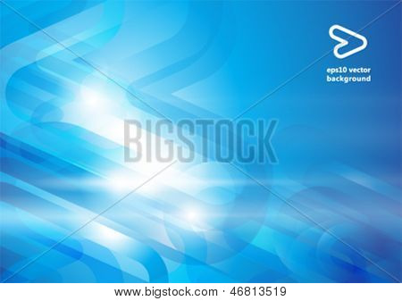 Abstract vector background with copy space
