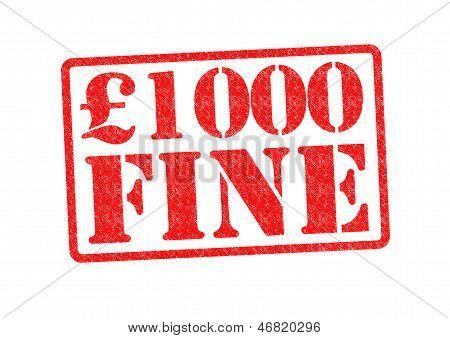 �1000 Fine