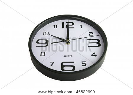 Clock showing ten o'clock