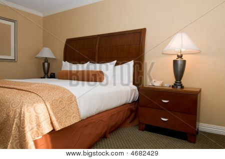 Hotel Room With Queen Bed