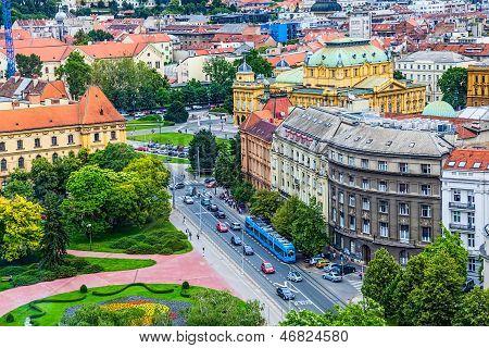 Zagreb, panorama