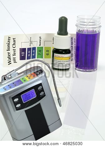 Alkaline Water Generator Test Ph Reagent