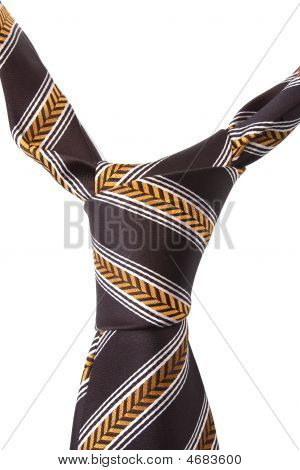 Brown Necktie