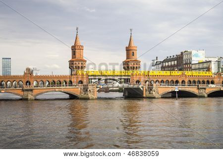 An image of the Red Bridge in Berlin Germany