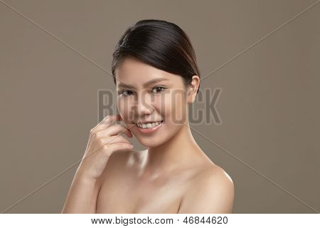 Female Asian Smiling
