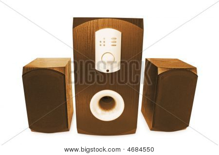 Three Computer Speaker